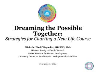 Dreaming the Possible Together: Strategies for Charting a New Life Course
