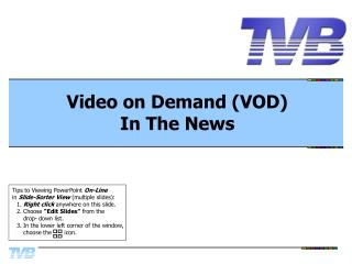 Video on Demand (VOD) In The News
