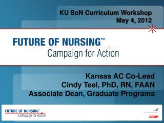 KU SoN Curriculum Workshop May 4,  2012