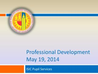 Professional Development May 19, 2014