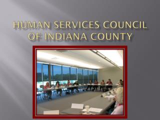 Human Services Council of Indiana County