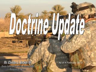 Doctrine Update