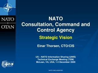 NATO Consultation, Command and Control Agency