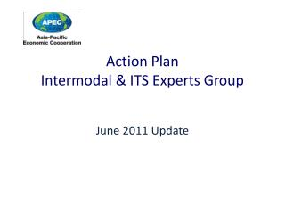 Action Plan  Intermodal & ITS Experts Group