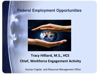 Federal Employment Opportunities