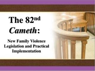 The 82 nd Cameth :