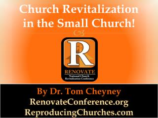 Church Revitalization in the Small Church!