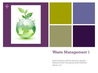 Waste Management 1