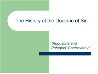 the history of the doctrine of sin