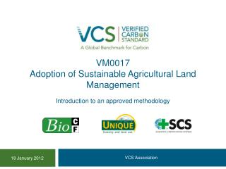 VM0017 Adoption of Sustainable Agricultural Land Management