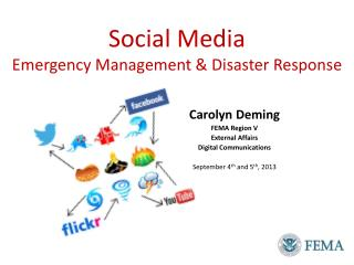 Social Media  Emergency Management & Disaster Response