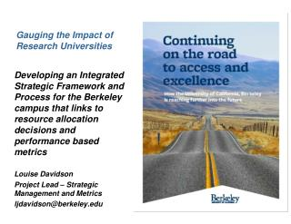 Gauging the Impact of Research Universities