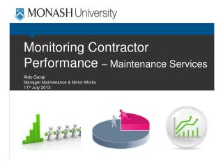 Monitoring Contractor Performance  – Maintenance Services