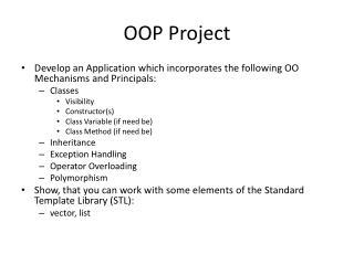 OOP Project