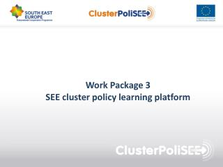 Work  Package 3 SEE  cluster policy learning platform