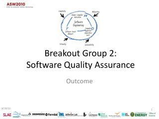Breakout Group 2: Software  Quality Assurance