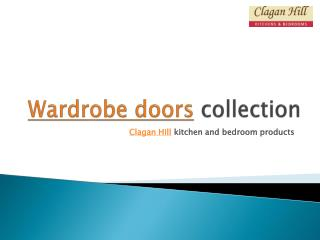 wardrobe doors collection from clagan hill