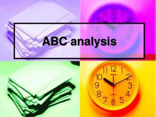 ABC  analysis