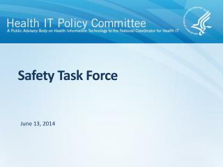Safety Task Force