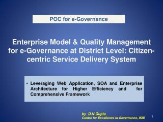 POC for e-Governance