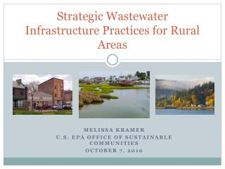 Strategic Wastewater Infrastructure Practices for Rural Areas