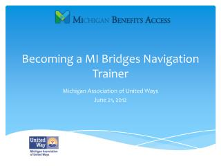 Becoming a MI Bridges Navigation Trainer