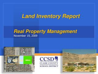 Land Inventory Report