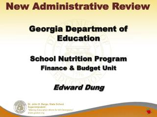 New Administrative Review