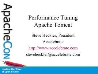 Performance Tuning Apache Tomcat