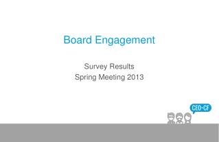 Board Engagement