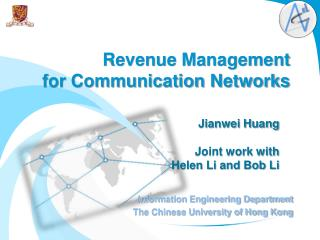 Revenue  Management  for Communication Networks