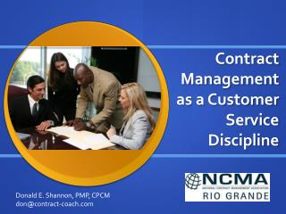 Contract Management as a Customer Service Discipline