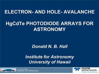 electron- and hole- avalanche hgcdte photodiode arrays for ...