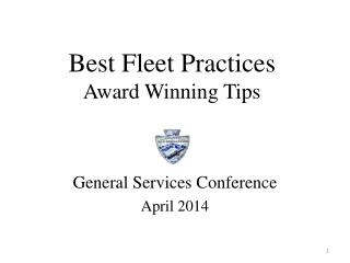 Best Fleet Practices  Award Winning Tips