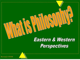 part i: the structure of philosophy