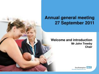 Annual general meeting  27 September 2011