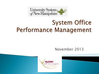 System Office  Performance Management