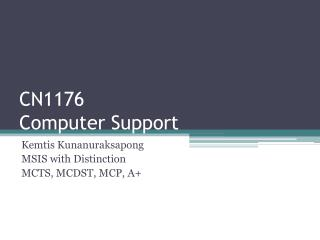 CN1176 Computer Support