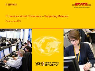IT Services Virtual Conference – Supporting Materials