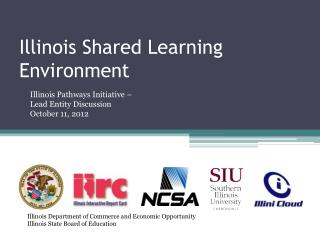 Illinois Shared Learning Environment