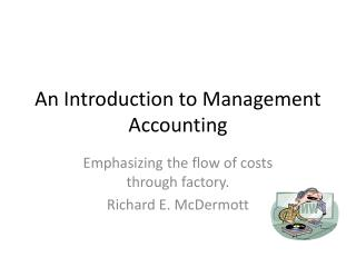 An Introduction to Management Accounting