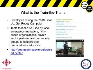 What is the Train-the-Trainer