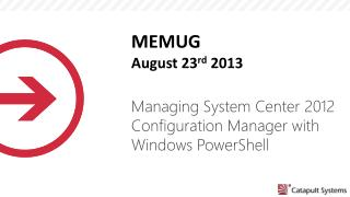 Managing System Center 2012 Configuration Manager with Windows PowerShell