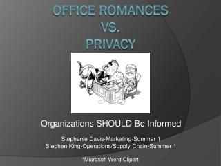 Office romances Vs. Privacy