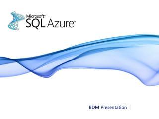 BDM Presentation