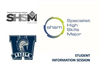 STUDENT INFORMATION SESSION