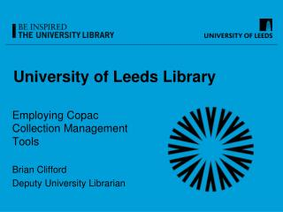 University of Leeds Library