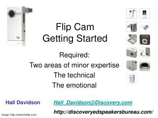Flip Cam Getting Started