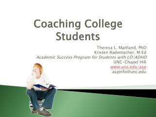 Coaching College Students