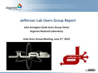 Jefferson Lab Users Group Report